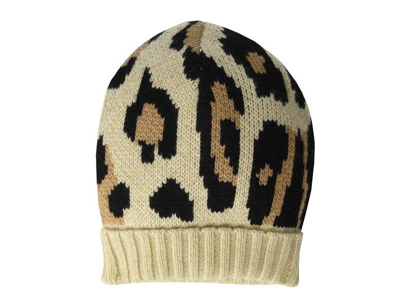 ユージニアキム レディース 帽子 アクセサリー Alexis Camel Leopard