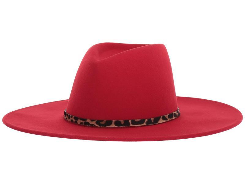 送料無料 サイズ交換無料 ユージニアキム レディース アクセサリー 帽子 Red ユージニアキム レディース 帽子 アクセサリー Harlowe Red