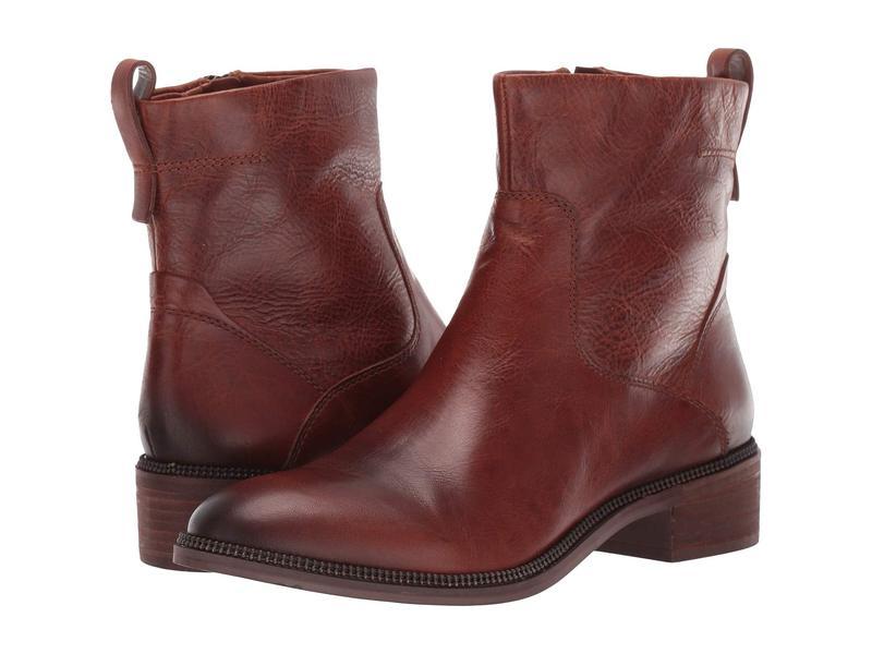 フランコサルト レディース ブーツ・レインブーツ シューズ Brindle Cognac Leather