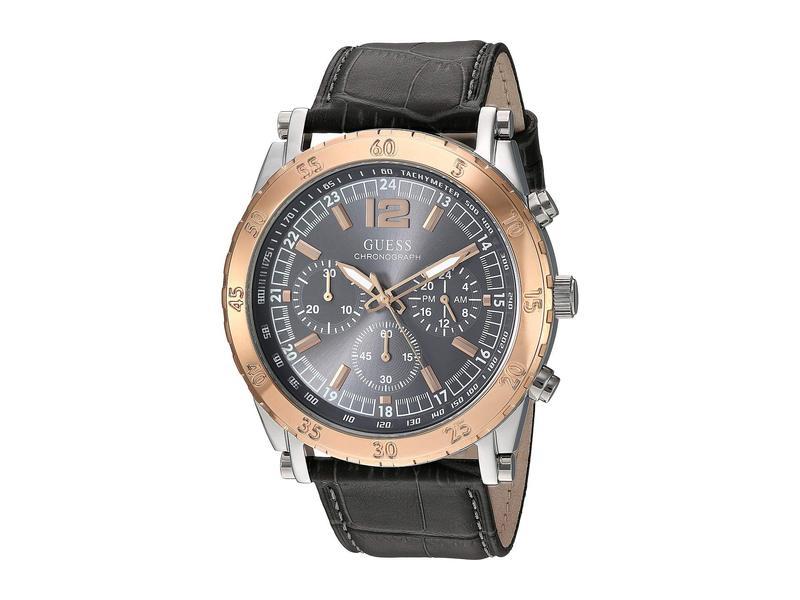ゲス メンズ 腕時計 アクセサリー U1311G1 Rose Gold/Silve