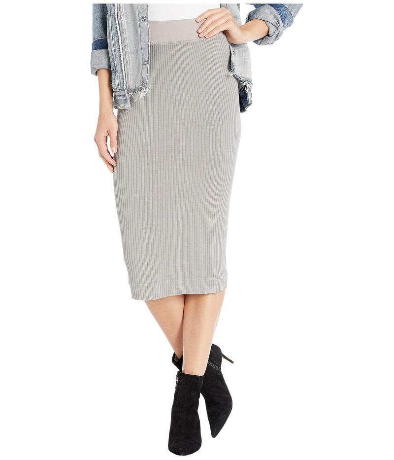 ハードテイル レディース スカート ボトムス Midi Pencil Skirt Nickel