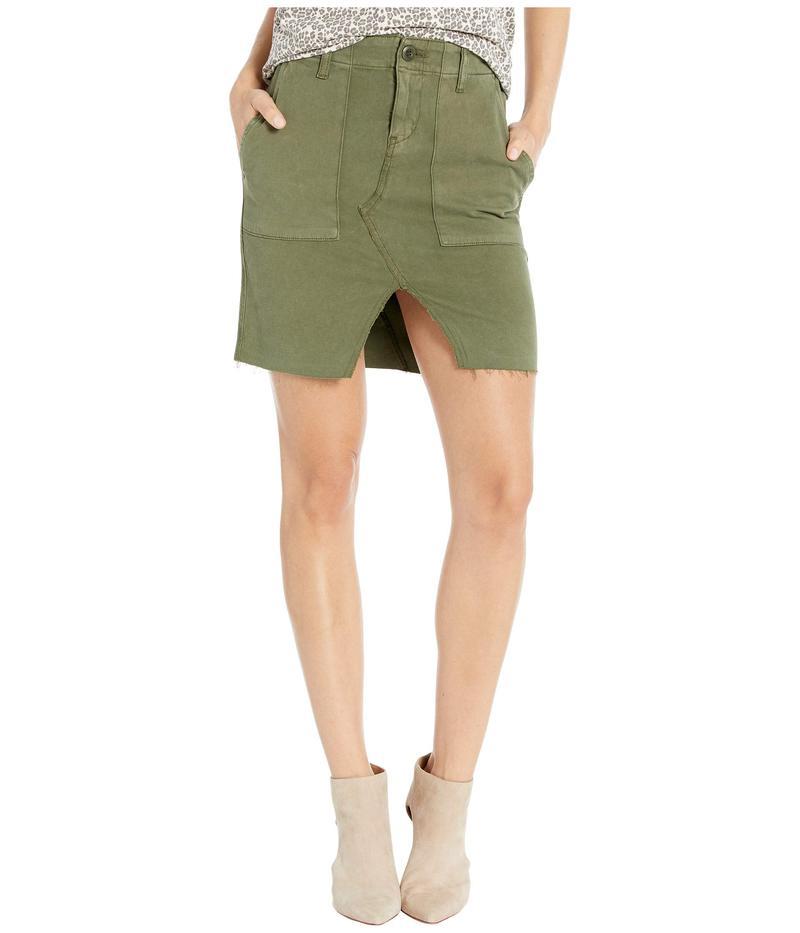 ハドソンジーンズ レディース スカート ボトムス Lulu Military Cargo Skirt in Washed Troop Washed Troop