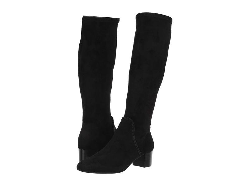 ジャックロジャース レディース ブーツ・レインブーツ シューズ Gemma Tall Heeled Boot Black