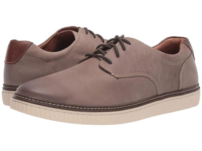 ジョンストンアンドマーフィー メンズ スニーカー シューズ Walden Casual Plain Toe Sneaker Gray