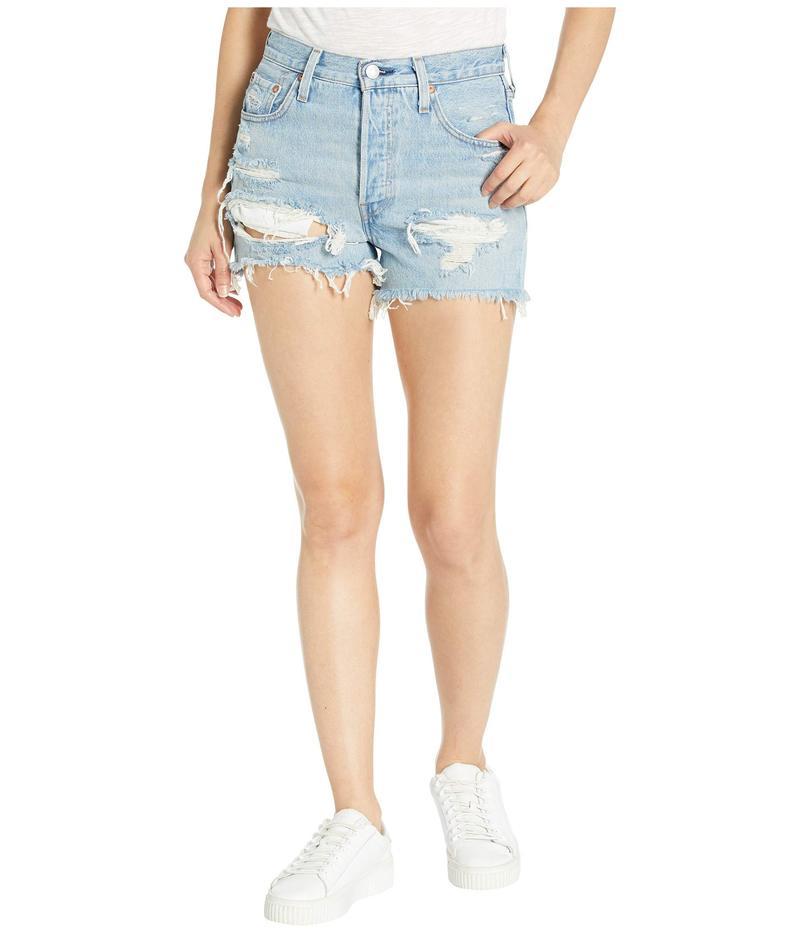 リーバイス レディース ハーフパンツ・ショーツ ボトムス Premium 501 High-Rise Shorts Fault Line