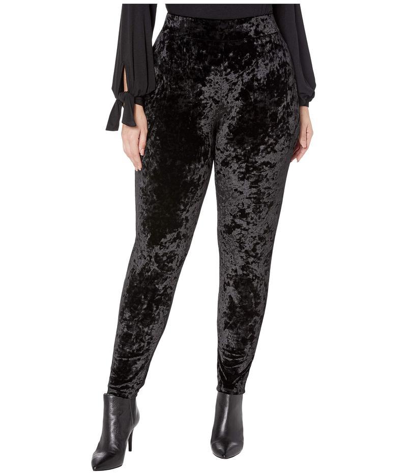 マイケルコース レディース カジュアルパンツ ボトムス Plus Size Velvet Leggings Black