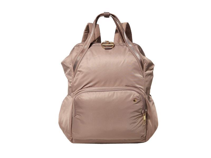 パックセーフ レディース バックパック・リュックサック バッグ Citysafe CX Anti-Theft Backpack Blush Tan