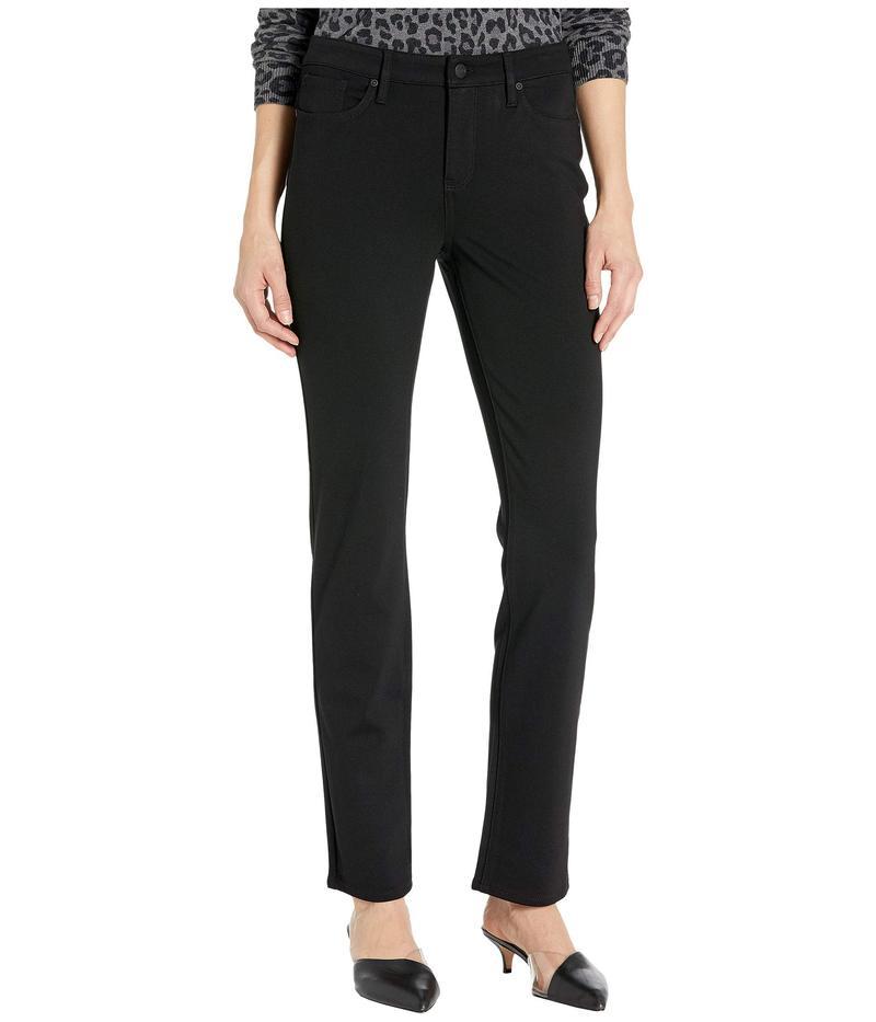 エヌワイディージェイ レディース デニムパンツ ボトムス Sheri Slim Jeans in Black Black