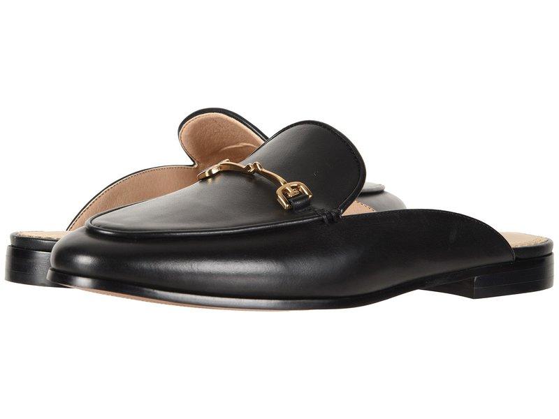 サムエデルマン レディース サンダル シューズ Linnie Black Modena Calf Leather