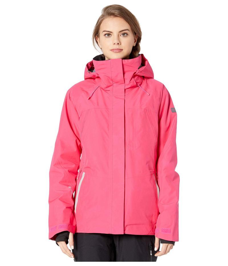 ロキシー レディース コート アウター GORE-TEX 2L Wilder Snow Jacket Beetroot Pink