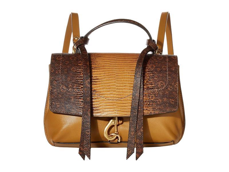 レベッカミンコフ レディース バックパック・リュックサック バッグ Stella Medium Convertible Backpack Nutmeg