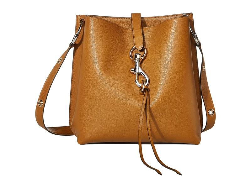 レベッカミンコフ レディース ハンドバッグ バッグ Megan Shoulder Bag Nutmeg