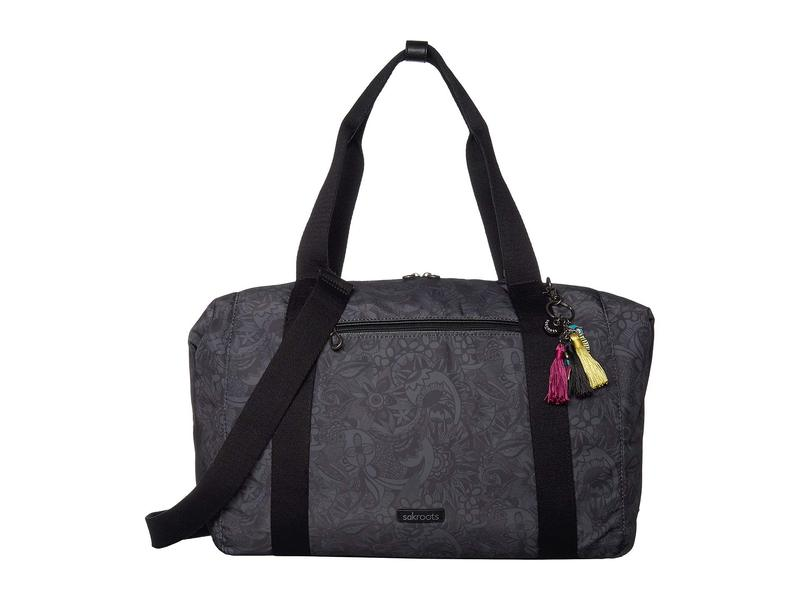 サックルーツ レディース ボストンバッグ バッグ Artist Circle Bag Black Spirit De