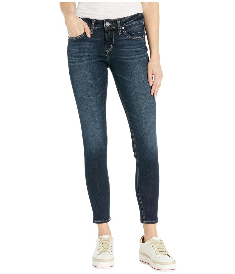 シルバー ジーンズ レディース デニムパンツ ボトムス Avery High-Rise Curvy Fit Skinny Jeans L94116SDG460 Indigo