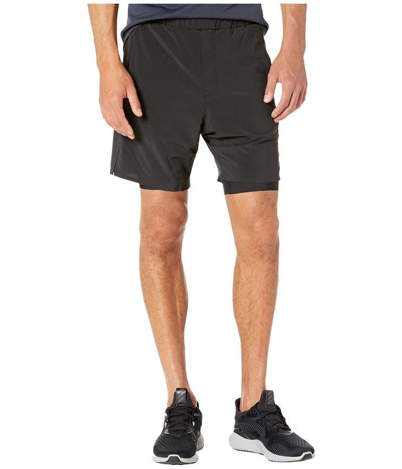 リュー メンズ ハーフパンツ・ショーツ ボトムス Interval Shorts Deepest Black