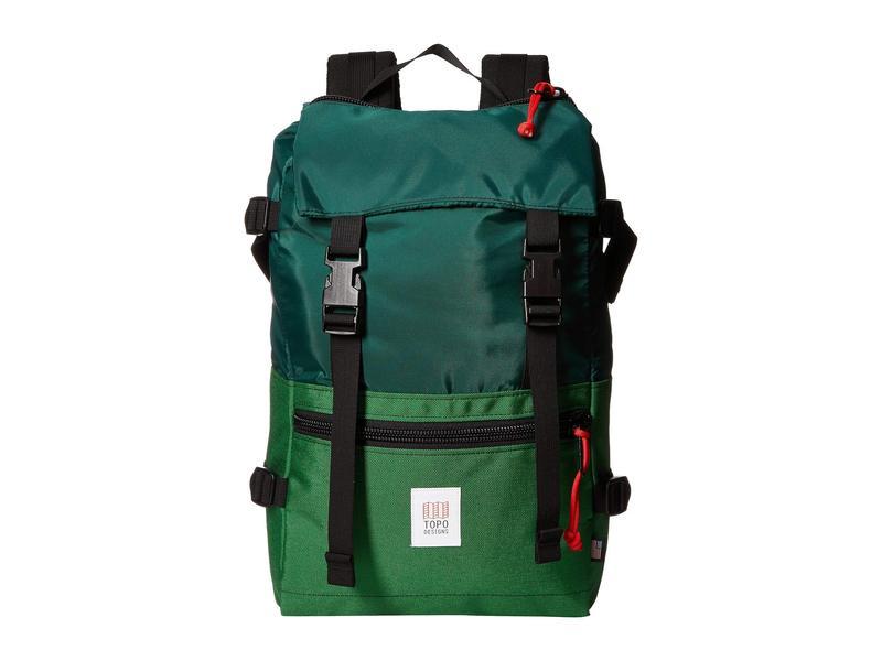 トポ・デザイン メンズ バックパック・リュックサック バッグ Rover Pack Forest/Kelly
