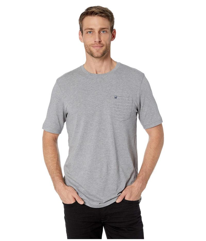 トラビスマヒュー メンズ シャツ トップス Cheat Sheet T-Shirt Heather Grey