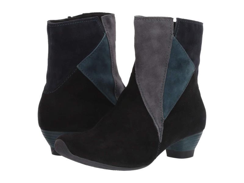 スィンク レディース ブーツ・レインブーツ シューズ Aida Ankle Boot - 85262 Black/Kombi