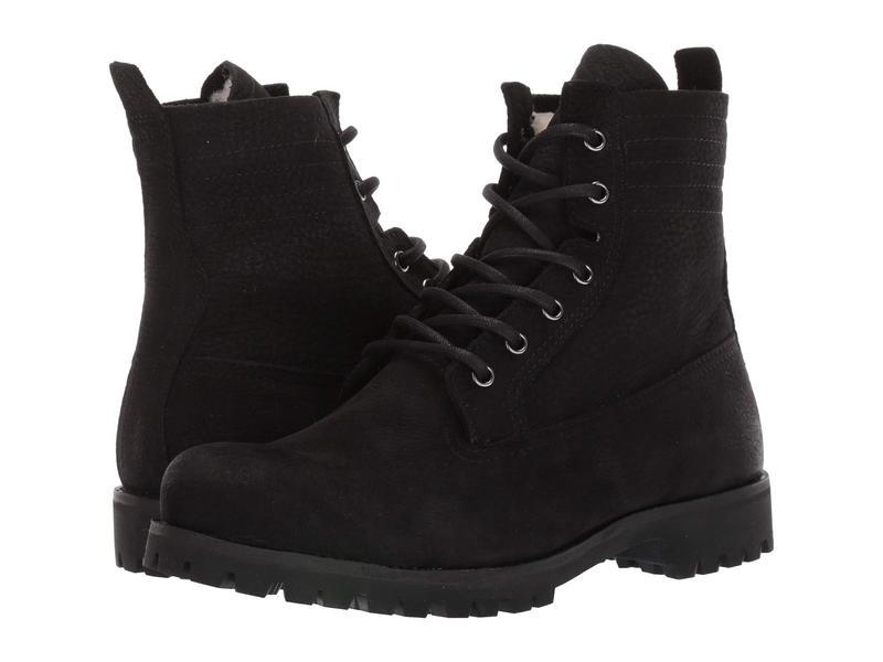 ブラックストーン レディース ブーツ・レインブーツ シューズ Lace-Up Sheepskin Boot - OL22 Black