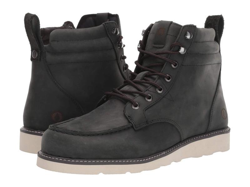 ボルコム メンズ ブーツ・レインブーツ シューズ Willington Boot Charcoal