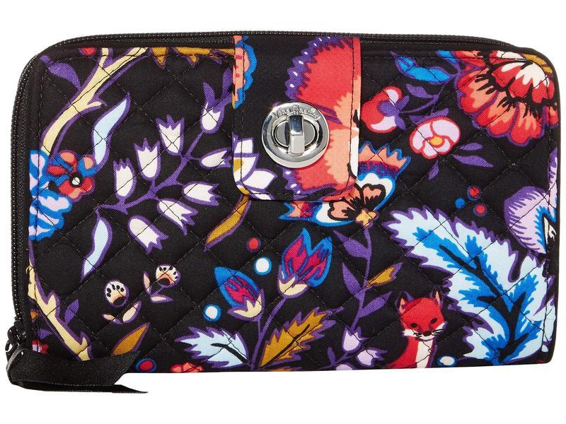 ベラブラッドリー レディース 財布 アクセサリー Iconic RFID Turnlock Wallet Foxwood