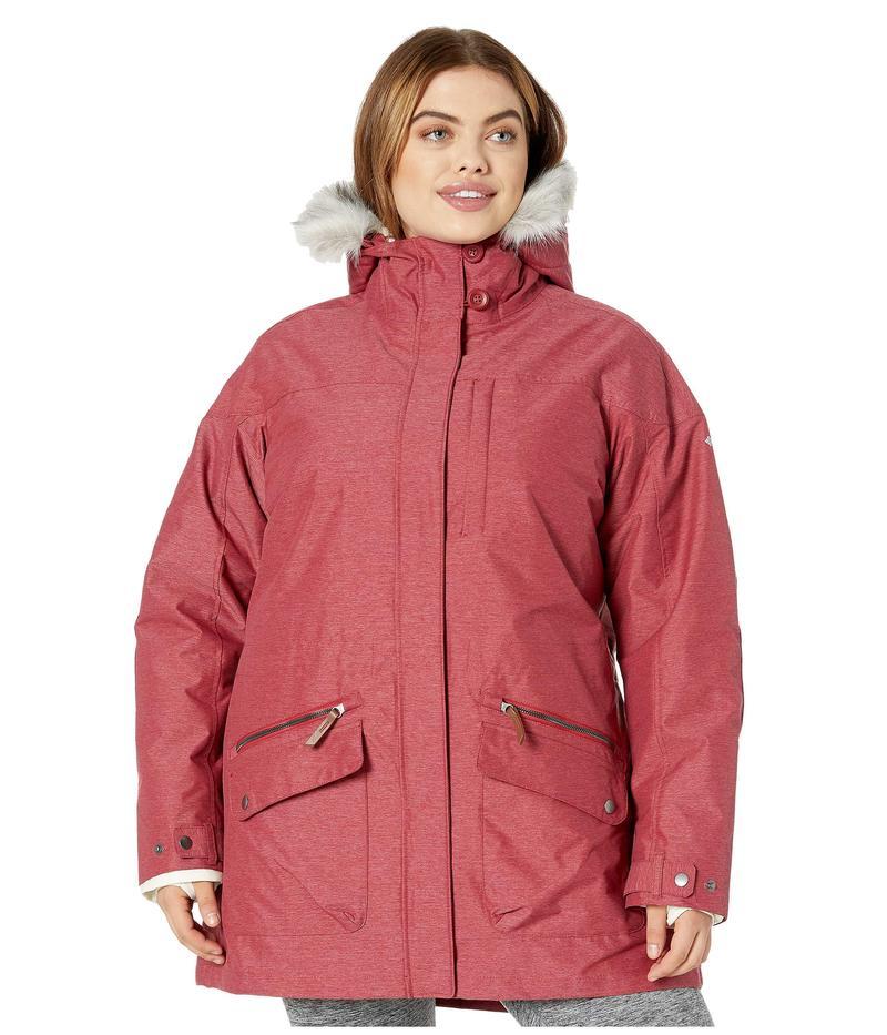コロンビア レディース コート アウター Plus Size Carson Pass IC Jacket Beet