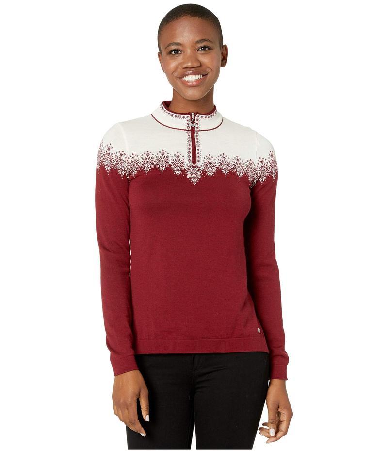 ダールオブノルウェイ レディース ニット・セーター アウター Snefrid Sweater Ruby Melange/Of