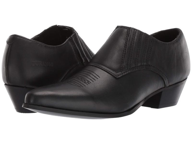 ドゥランゴ レディース ブーツ・レインブーツ シューズ Western Shoe Boot Black