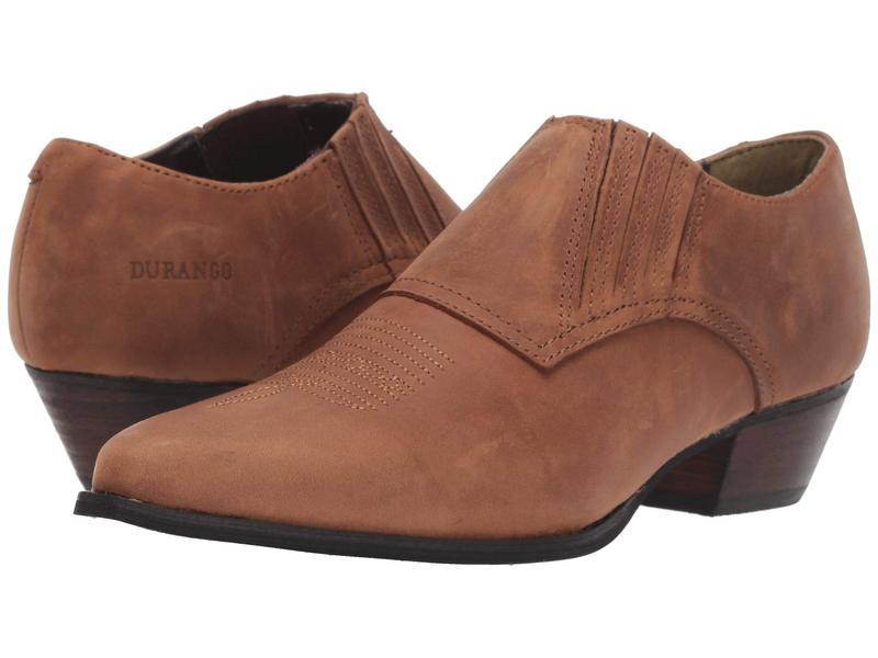ドゥランゴ レディース ブーツ・レインブーツ シューズ Western Shoe Boot Brown