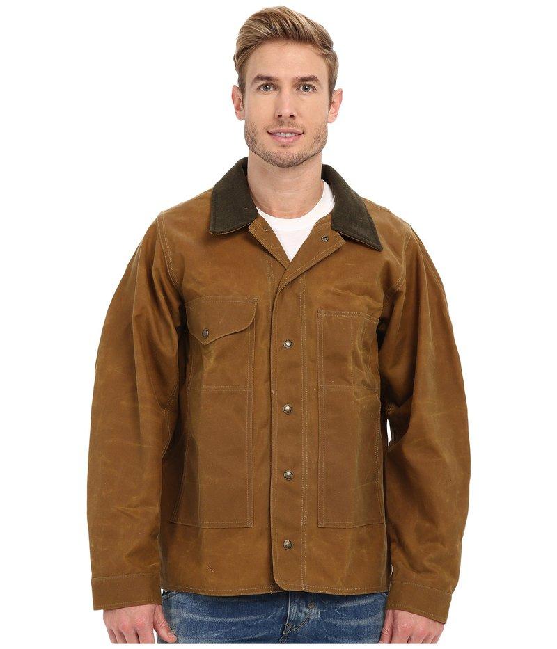 フィルソン メンズ コート アウター Tin Jacket - Extra Long Tan