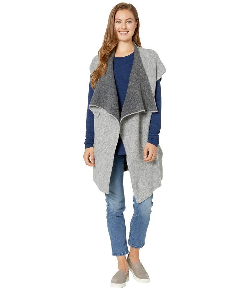 ロル レディース ニット・セーター アウター Two-Tones Cardigan Medium Grey Hea