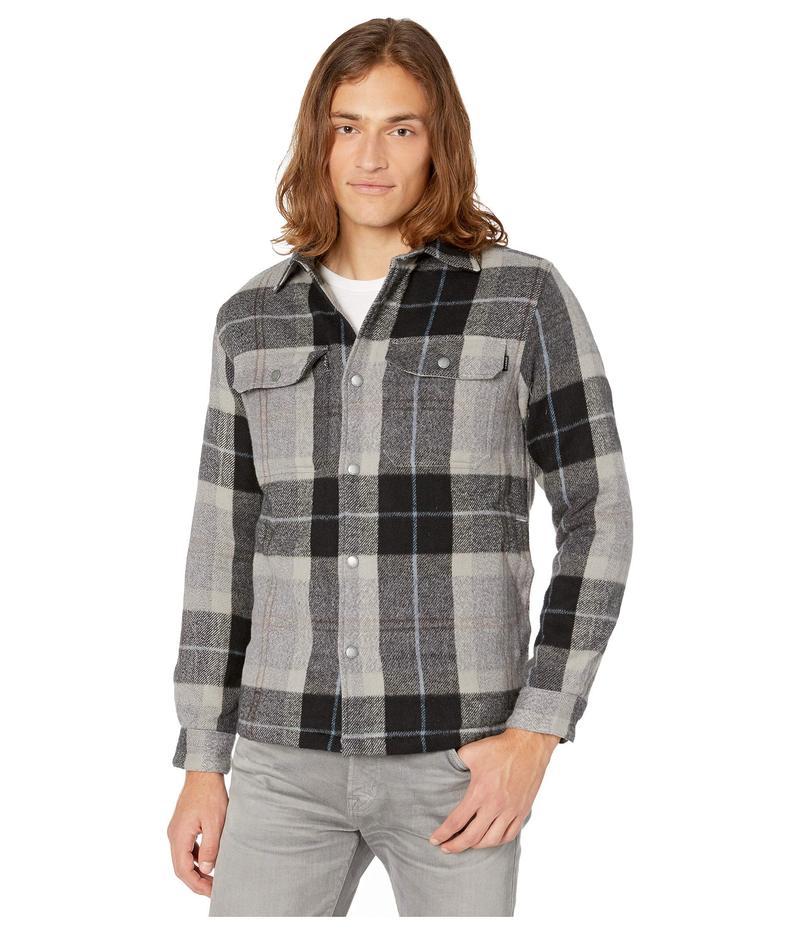 オニール メンズ コート アウター Flanders Shirt Jacket Heather Grey