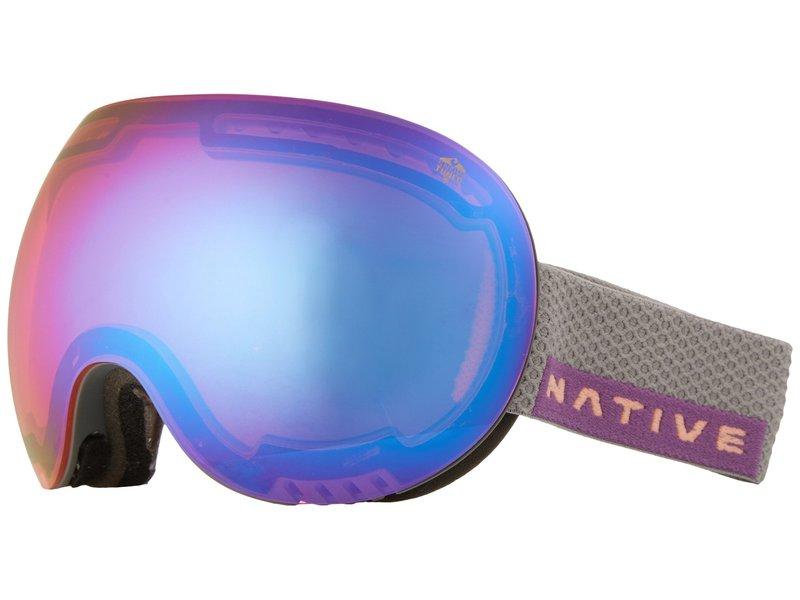 ネイティブアイウェア メンズ サングラス・アイウェア アクセサリー Backbowl Dark Rip/Pink/Blue Reflex
