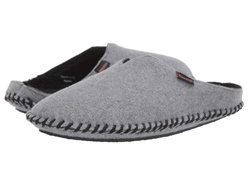 ペンドルトン レディース サンダル シューズ Fleece Weaver Slide Steel Gray