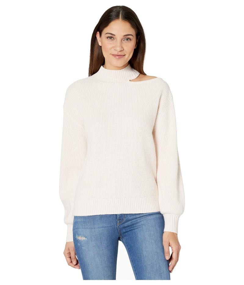 サンクチュアリー レディース ニット・セーター アウター Go All Cutout Sweater Light Pearl