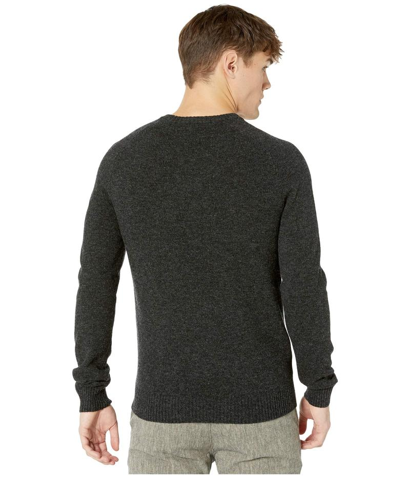 YUNY Mens Raglan Round Collar Stripes Knitting Classic Long-Sleeve Pullover Sweaters White XL