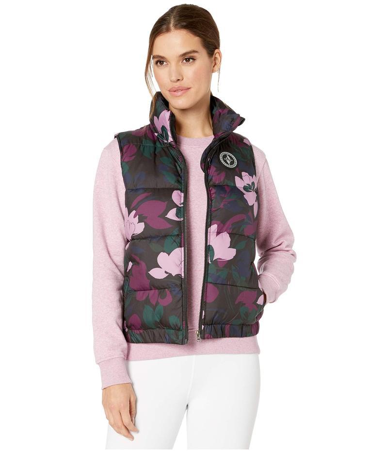 スケッチャーズ レディース コート アウター Chill Out Printed Puffer Vest Camo