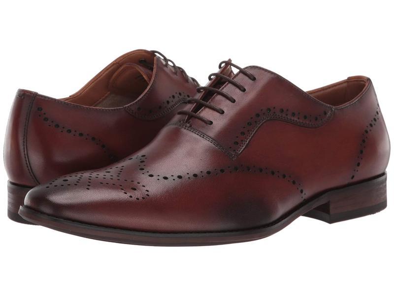 スティーブ マデン メンズ オックスフォード シューズ Dimas Oxford Tan Leather