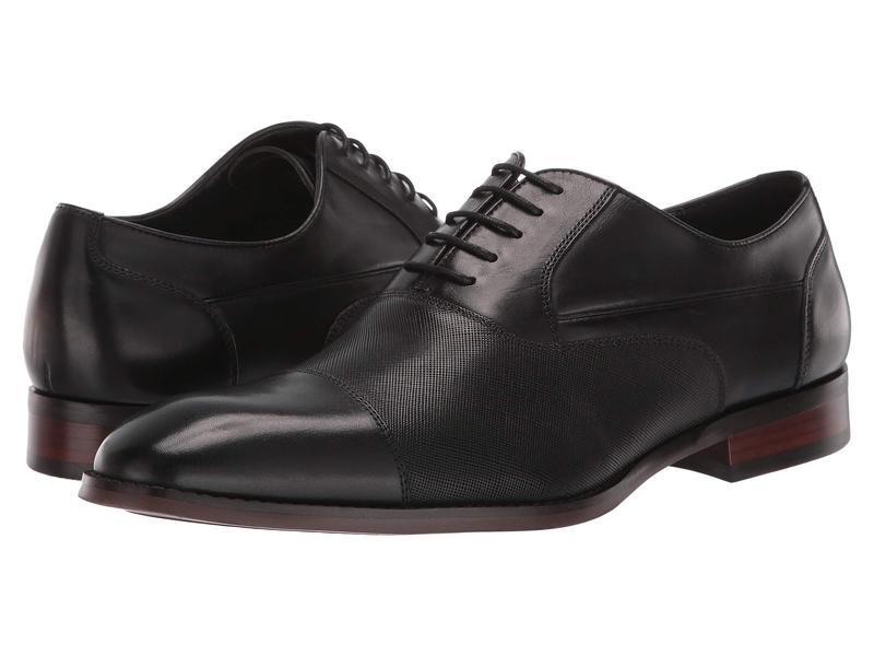 スティーブ マデン メンズ オックスフォード シューズ Proctr Oxford Black Leather