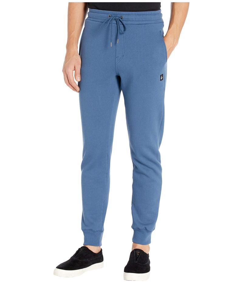 ボルコム メンズ カジュアルパンツ ボトムス Single Stone Fleece Pants Smokey Blue