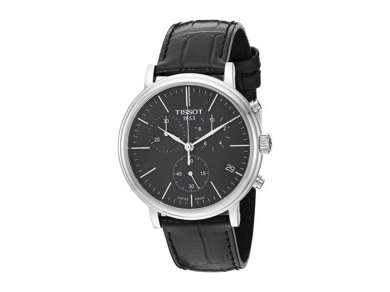 ティソット メンズ 腕時計 アクセサリー Carson Premium Chronograph - T1224171605100 Black