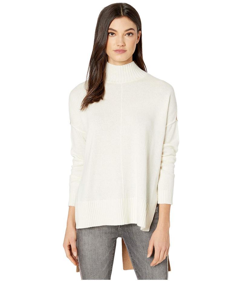 ビーシービージーマックスアズリア レディース ニット・セーター アウター Mock Long Sleeve Pullover Sweater Gardenia Combo