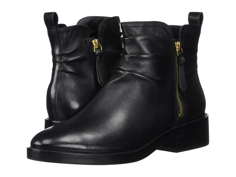 コールハーン レディース ブーツ・レインブーツ シューズ Harringtion Grand Slouch Bootie Black Leather/B