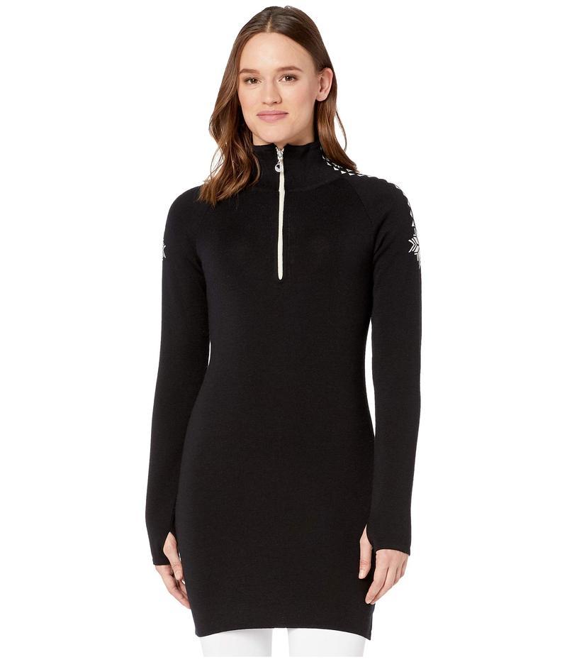 ダールオブノルウェイ レディース ワンピース トップス Geilo Feminine Dress Black/Off-White