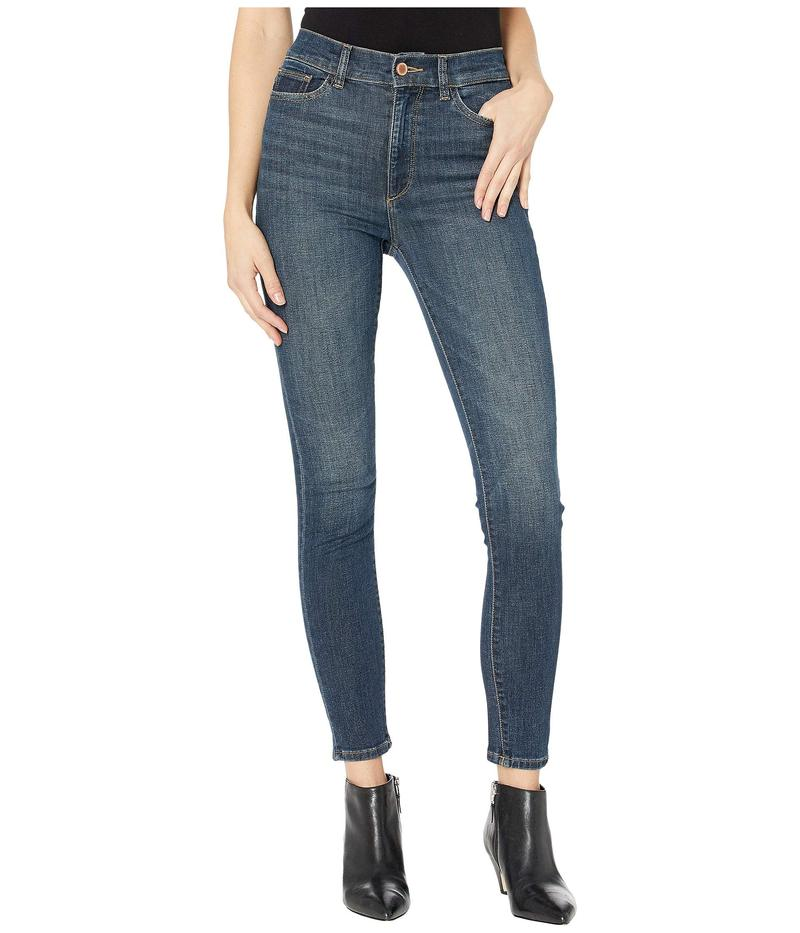ディーエル1961 レディース デニムパンツ ボトムス Farrow Ankle High-Rise Instasculpt Skinny in Dark Blue Dark Blue