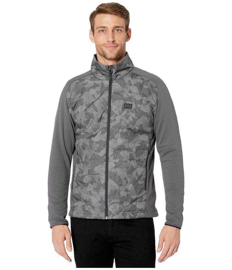 ヘリーハンセン メンズ コート アウター Lifaloft Hybrid Insulator Jacket Charcoal Camo
