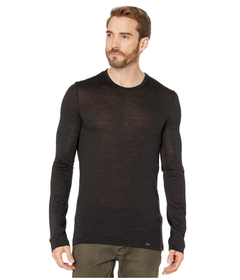 ハンロ メンズ シャツ トップス Light Merino Wool Long Sleeve Shirt Phantom