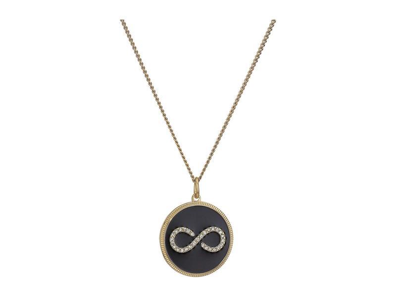 フォッシル レディース ネックレス・チョーカー・ペンダントトップ アクセサリー Modern & Magic Infinity Enamel Pendant Necklace Gold