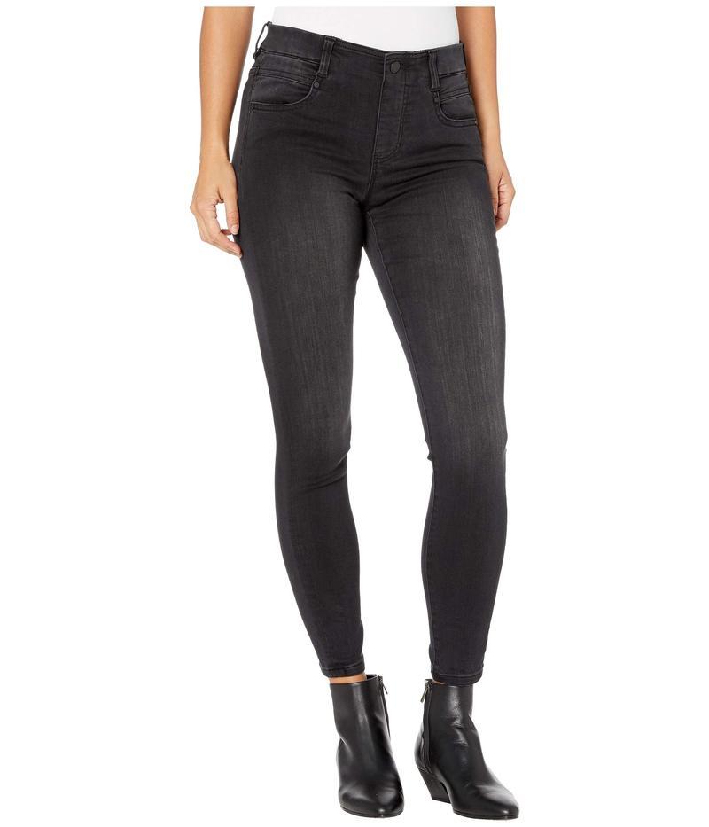 リバプール レディース デニムパンツ ボトムス Petite Gia Glider/Revolutionary Pull-On Jeans in Night Jet Night Jet