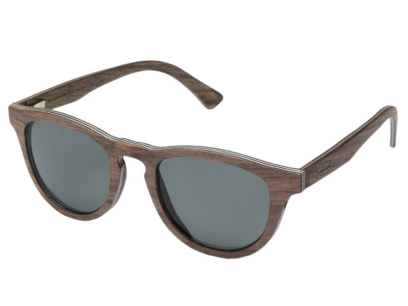 シュウッド メンズ サングラス・アイウェア アクセサリー Francis Wood Sunglasses - Polarized Walnut/Grey Polarized